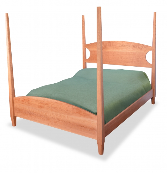 Bed Four Poster Custom Cherry