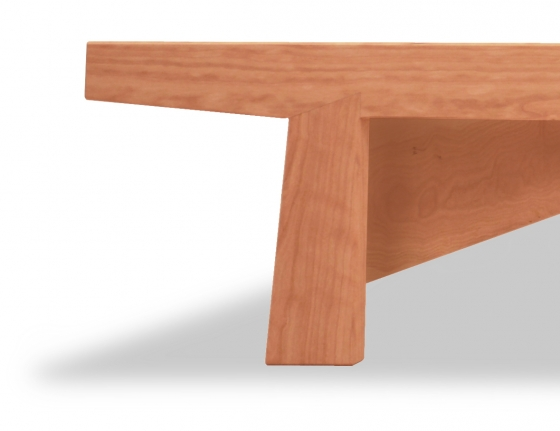 Dovetail Bed-Cherry