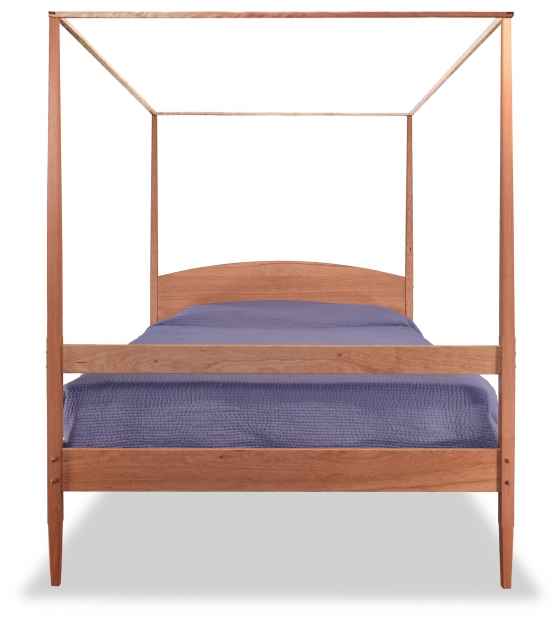 Pencil Post Bed Shaker with Canopy