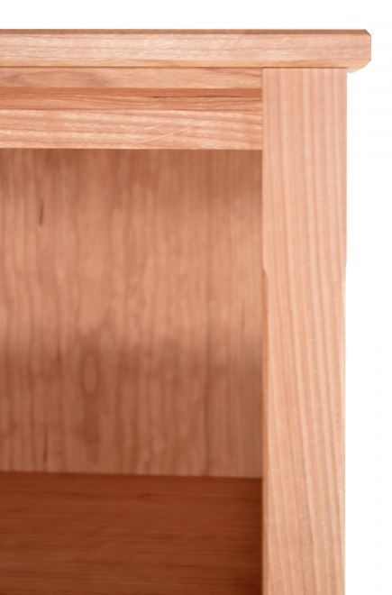 Bookcase 3 Shaker Cherry detail 2