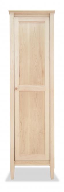 Bookcase Mirrored Shaker Maple