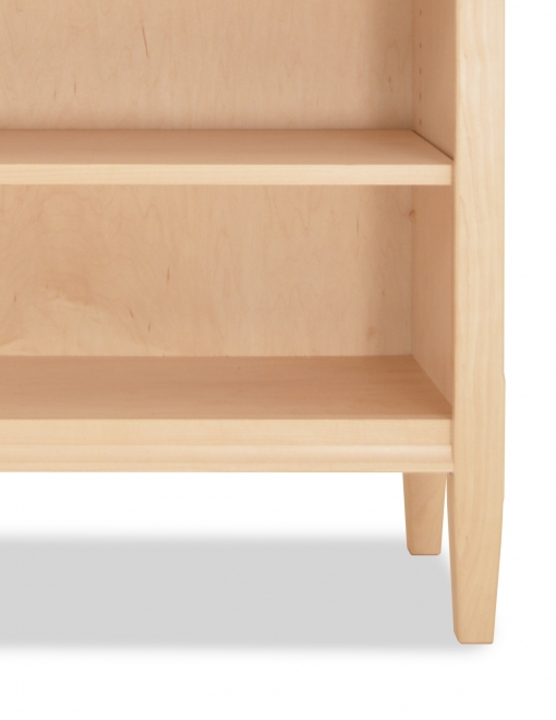 Bookcase Shaker 4 Maple Detail 2