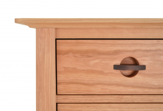 Dresser 7 Drawer Harvestmoon Cherry