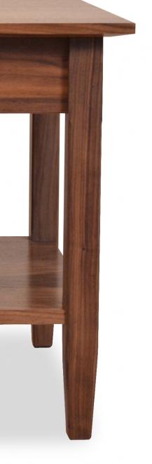 End Table Shaker with Shelf 2 Walnut1