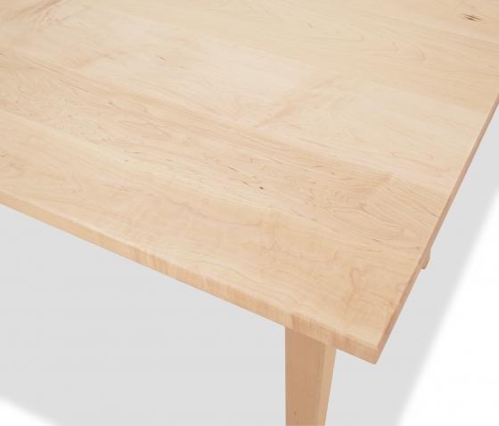 Harvest Table Shaker maple detail 1