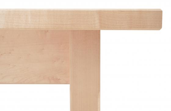 Harvest Table Shaker maple detail 2