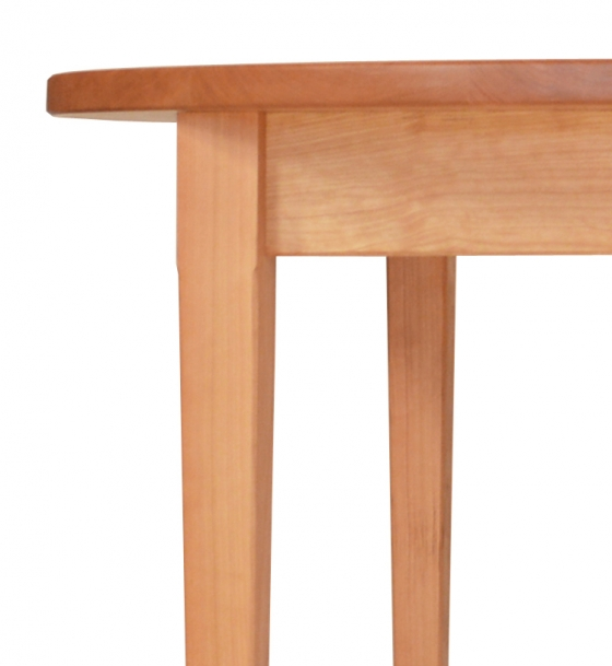 Extension Table Oval 1 Leaf Shaker Cherry