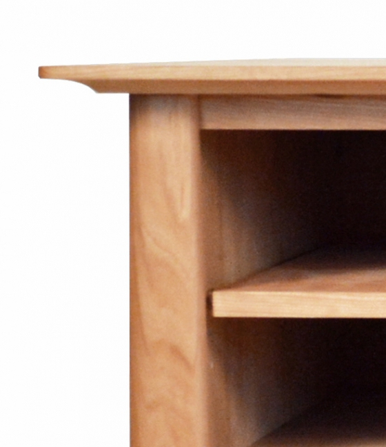 TV Console 1 with Drawers Harvestmoon Cherry