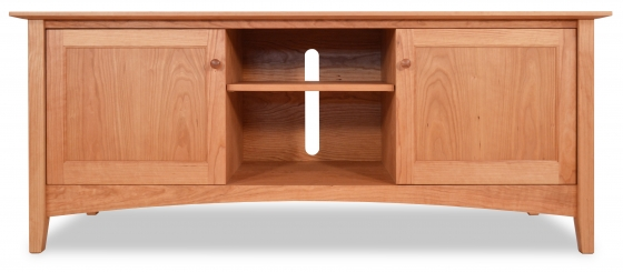 TV Console 2 Canterbury with Doors Cherry