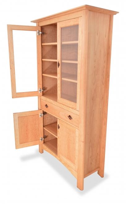 Cupboard Harvestmoon Cherry door open