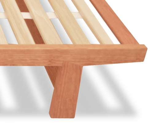 Dovetail Bed with Slats