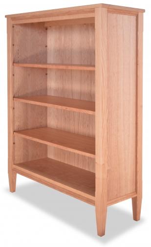Bookcase 3 Shaker Cherry detail