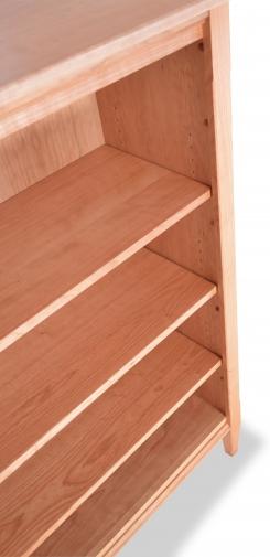 Bookcase 3 Shaker Cherry detail 3
