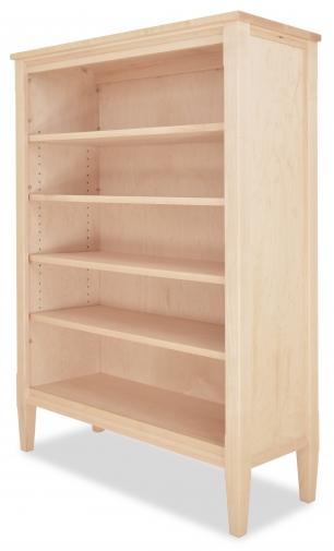 "Bookcase Shaker 73"" H-angle Maple"