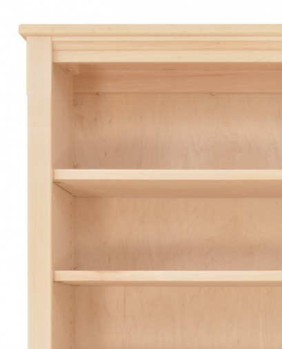Bookcase Shaker 4 Maple Detail 1