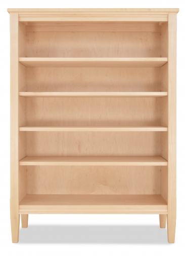 "Bookcase Shaker 73"" H-Maple"