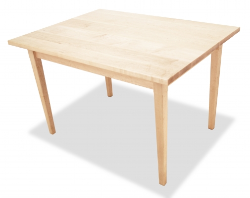 Harvest Table Shaker Maple angle 2