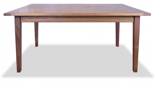 Table Harvest Style Shaker Walnut with Bread Board Ends