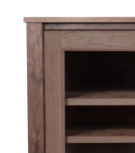 TV Console1 Horizon Cherry detail 1
