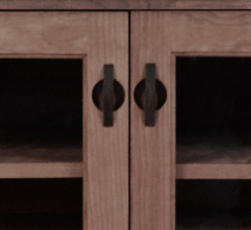 TV Console1 Horizon Cherry detail 2