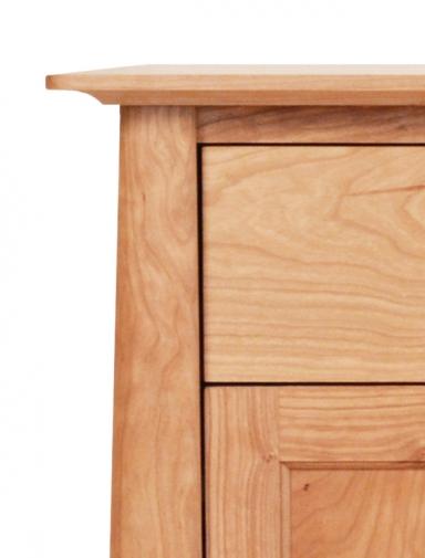 Nightstand 1 Drawer with Door Harvestmoon Detail 1