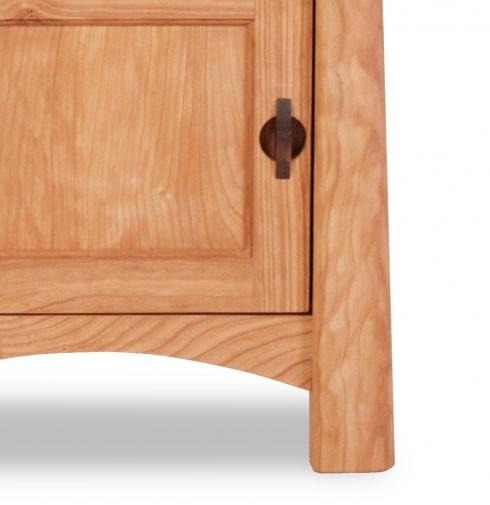 Nightstand 1 Drawer with Door Harvestmoon Detail 2