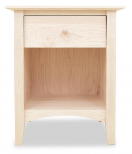Nightstand Canterbury 1 Drawer Maple