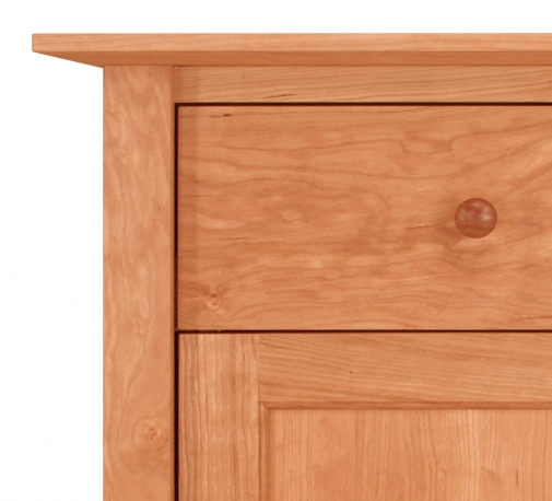 Nightstand Canterbury 1 Drawer with Door Detail