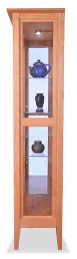 Curio Cabinet Cherry