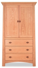 Armoire Cherry 3 Drawer Harvestmoon