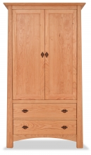 Armoire 2 Drawer Harvestmoon Cherry