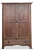 Armoire Harvestmoon 1 Drawer Walnut custom