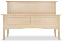Canterbury Panel Bed Maple