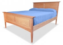 Panel Bed Canterbury Cherry angle