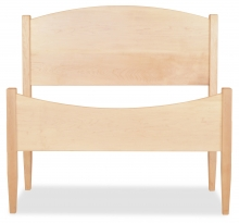 Bed Shaker Twin Maple