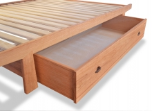 Trundle Drawer Cherry dovetail bed