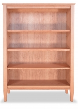 Bookcase 3 Shaker Cherry