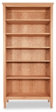 Bookcase 5 Shaker-Cherry