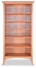 Bookcase Canterbury 5 Cherry
