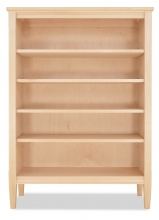 "Bookcase Shaker 73"" H-Maple"