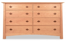 Dresser 8 Drawer Harvestmoon Cherry