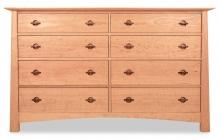Dresser 8 Drawer Harvestmoon Cherry