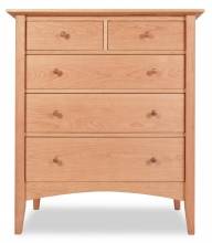 Chest 5 Drawer Canterbury Cherry