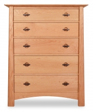 Chest 5 Drawer Harvestmoon-Cherry