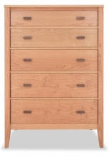 Chest 5 Drawer Horizon Cherry