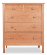 Chest 5 Drawer Shaker Cherry