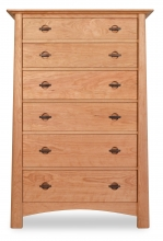 Chest 6 Drawer Harvestmoon Cherry