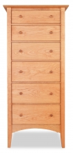 Lingerie Chest 6 Drawer Canterbury Cherry