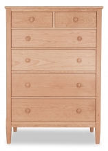 Chest 6 Drawer Shaker Cherry