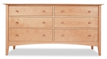 Dresser 6 Drawer Canterbury Cherry